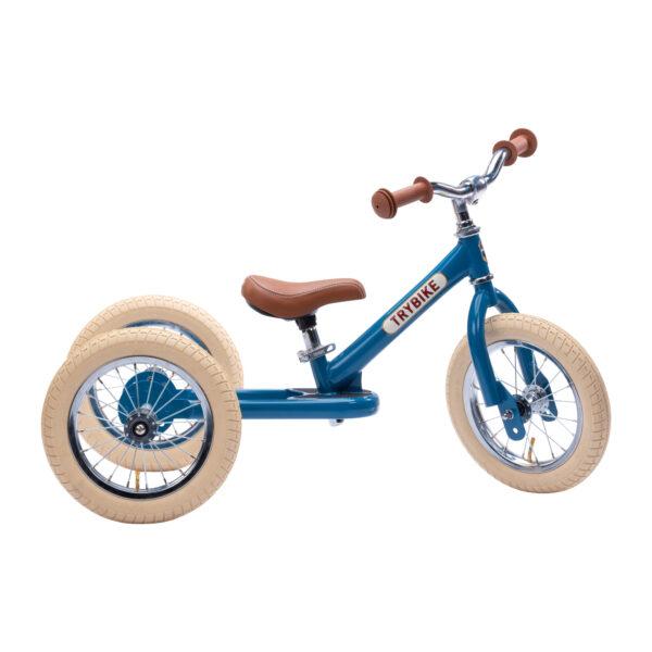 Trybike Vintage Blauw 2-in-1 Loopfiets