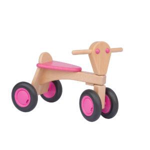Deze leuke, houten loopfiets is gemaakt van hoogwaardige, milieuvriendelijke materialen.