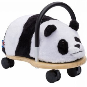 """Wheelybug Pluche """"Panda"""" Loopwagen Klein"""