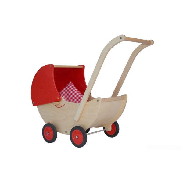 rode poppenwagen
